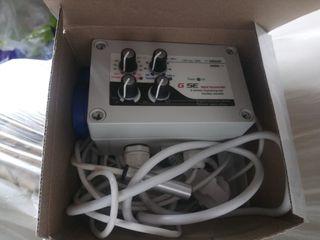 Controlador de Temperatura / Humedad y Velocidad