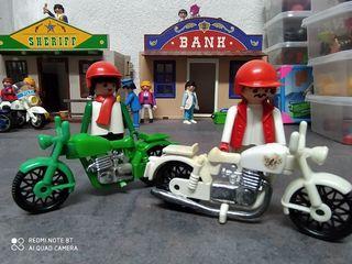 playmobil motos de los 80