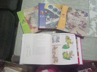 libros de punto de cruz