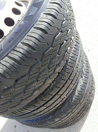 ruedas con llantas 195/70R15