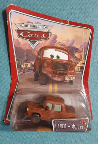 Coche Fred. De la película Cars.