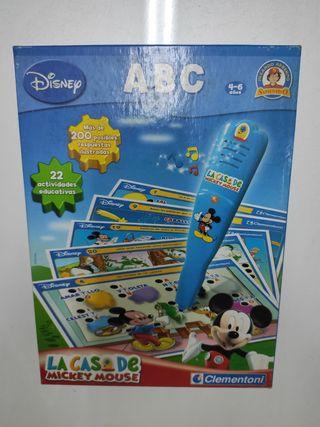 ABC La casa de Mickey Mouse Clementoni