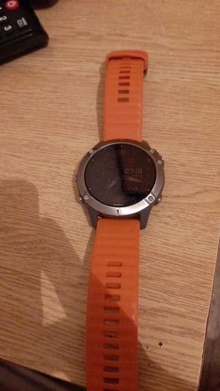 Reloj Garmin Fenix 6 Zafiro Titanio