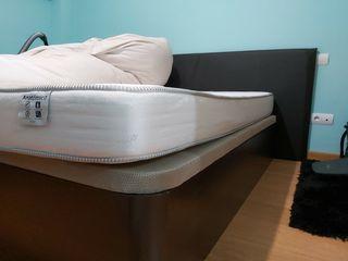 canape abatible tapizado y colchón 150×190