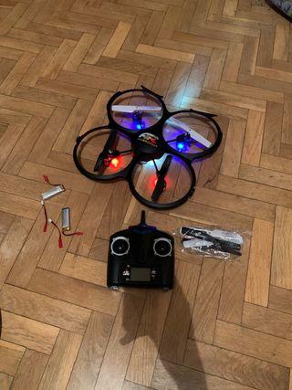 Dron Con Camara. 4 baterias
