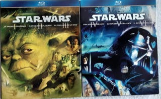 saga Star wars Blue Ray