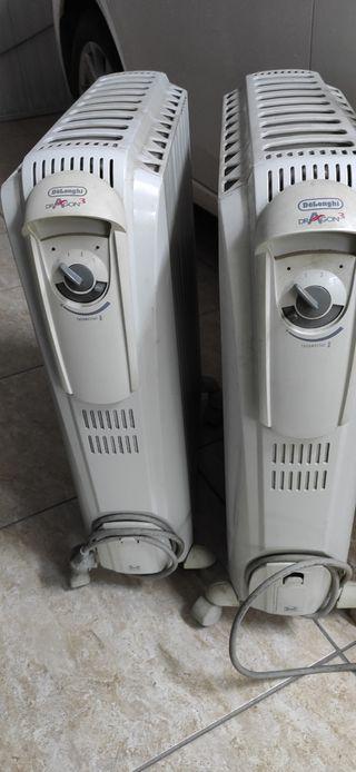 Radiadores eléctricos DeLonghi