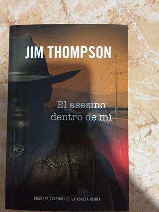 "Novela negra ""El asesino dentro de mi"""