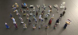 Colección completa de figuras de plomo Star Wars