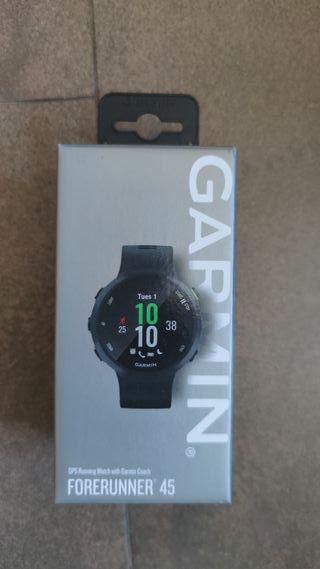 Reloj deportivo Garmin forerunner 45