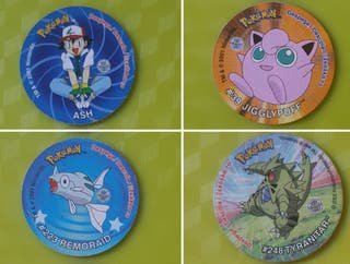Tazos Pokemon (con pegatina)