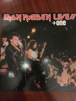 IRON MAIDEN LIVE+ONE