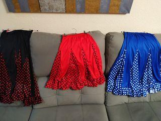 Faldas niña sevillana flamenca