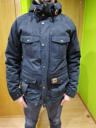 abrigo carhartt talla S hombre