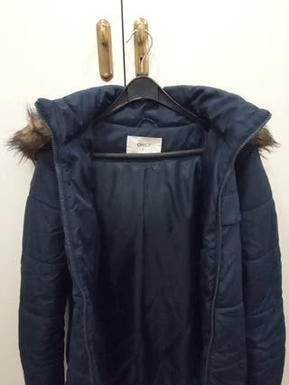 anorak largo mujer ONLY