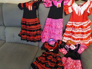 Vestidos flamenco niña