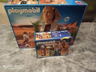 Playmobil 4242 Esfinge con Momia y Reyes Magos