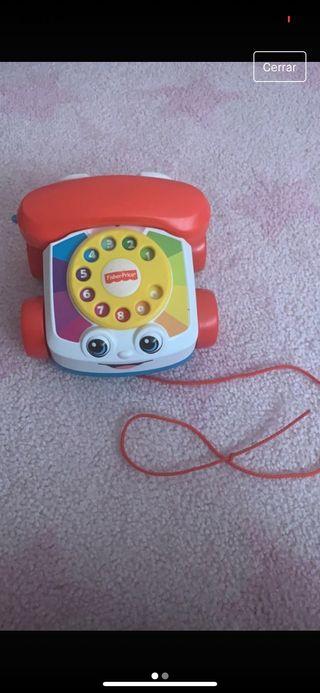 Juguete musical teléfono fisher price
