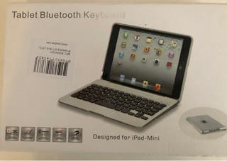 Teclado Bluetooth con funda IPad Mini