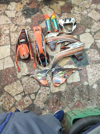 kit plásticos KTM