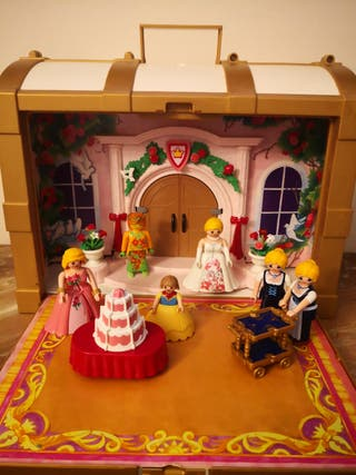 Palacio Maletín Playmobil 6 figuras y accesorios