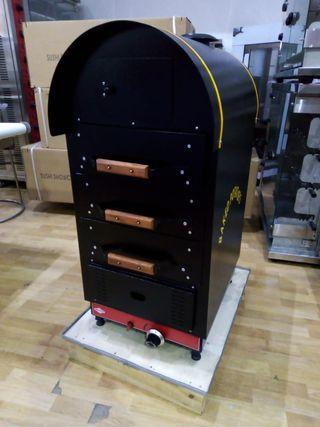 asador de patatas electrico y a gas
