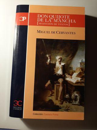 Don Quijote de la Mancha Selección de textos