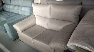 Sofa dos plazas, 150cm asientos deslizantes