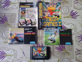 Sega Megadrive Mega Games 1