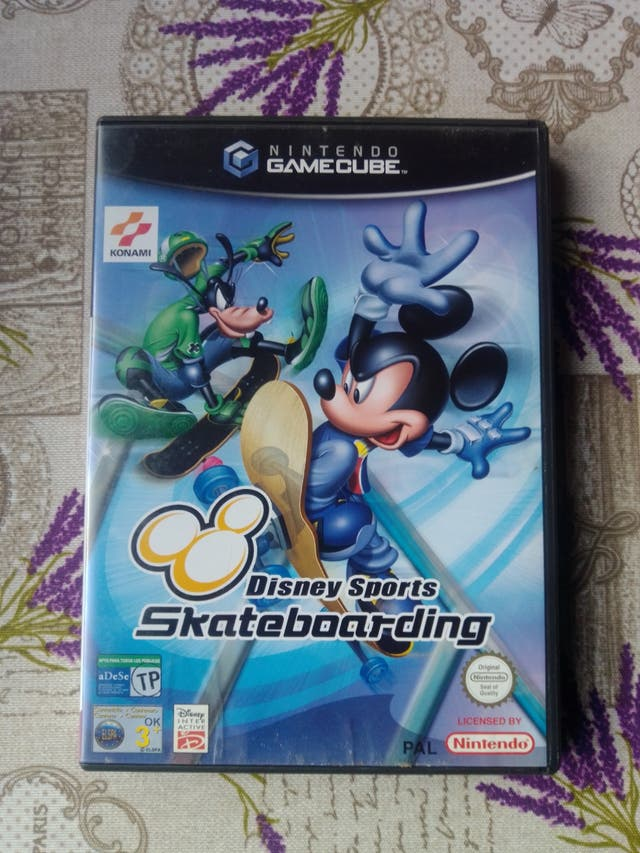 Nintendo Game Cube Disney Sports Skateboarding