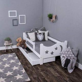 Cama infantil completa con colchón (160 x 80 cm)