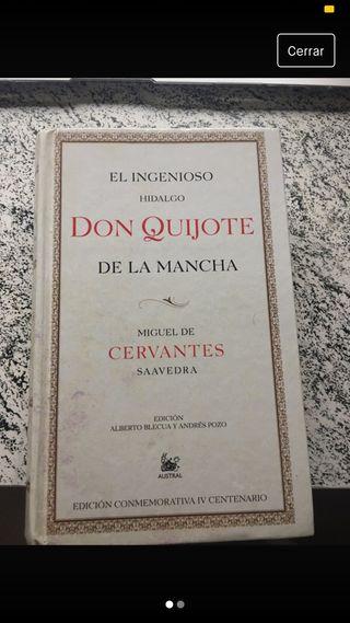 Libro: Don Quijote de la Mancha. El Ingenioso