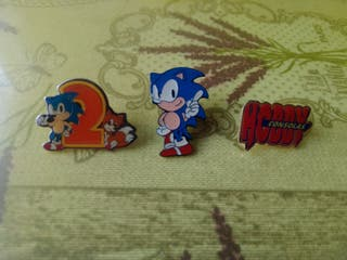 Pins Sonic Hobby Consolas