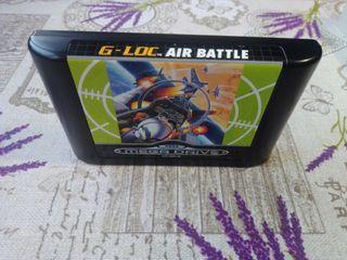 Sega Megadrive G-Loc Air Battle