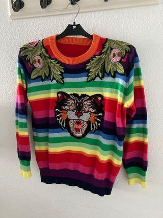 Jersey tigre multicolor
