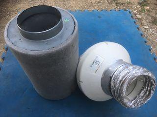 Extractor VK 150 + Filtro carbono antiolor