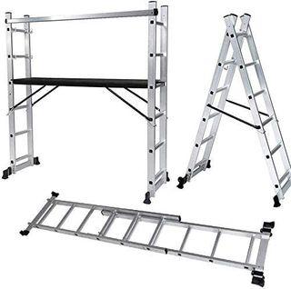 Andamio Escalera de Alumino Plegable