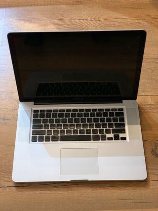 """Macbook pro 15""""finales de 2008 para piezas"""