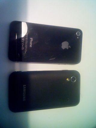 iphone y samsung.