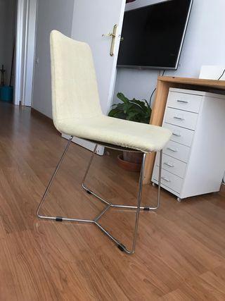 4 sillas vintage para oficina o comedor