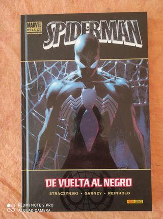 Spiderman de vuelta al negro