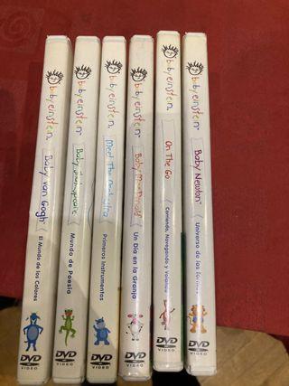 Colección dvd baby Einstein