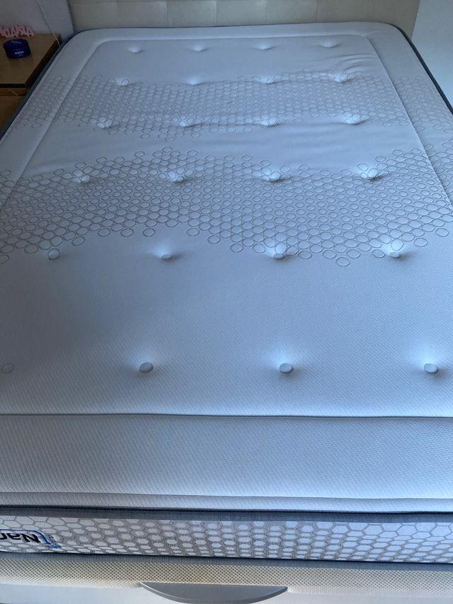 Canape, colchón 135x190 y cabecero