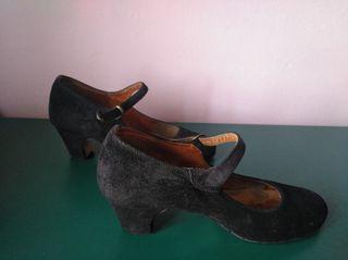 Zapatos baile flamenco iniciación