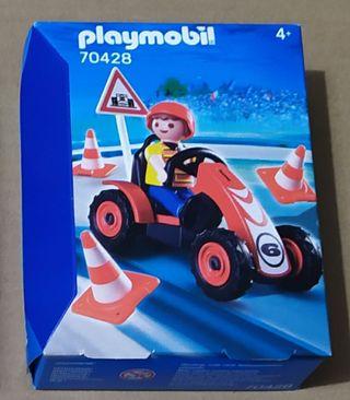 Playmobil niño con kart completo 70428