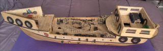 Barco de madera
