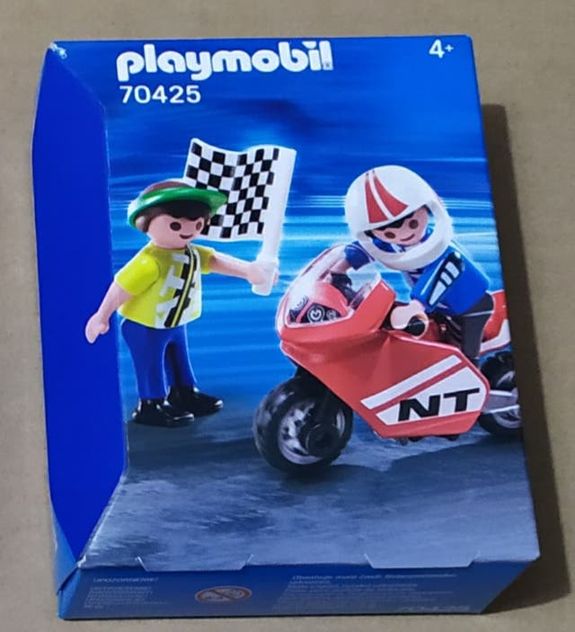 Playmobil niños con moto 70425