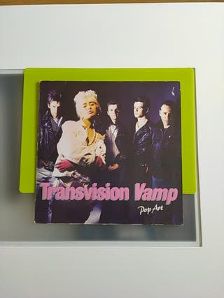 Lp Transvision Vamp, Pop Art