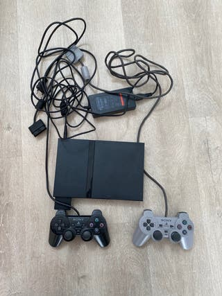 PS2 Slim + Mando PS2 + Mando PS1
