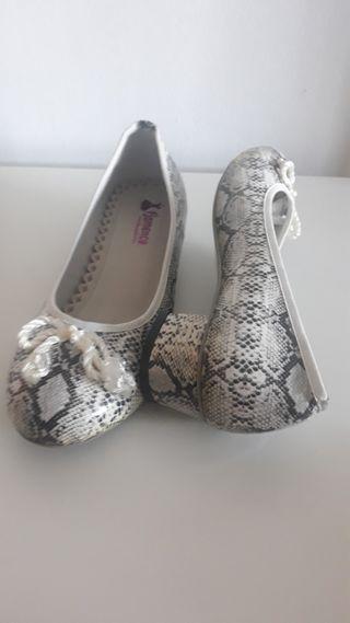 zapatos piel de serpiente nuevos